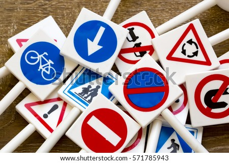 Traffic Signs #571785943