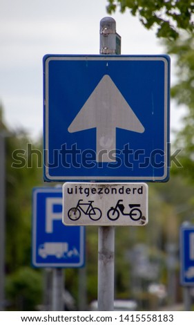 Traffic signs and safety signs