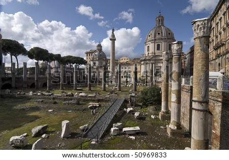 Traian's Forum and S. Maria di Loreto