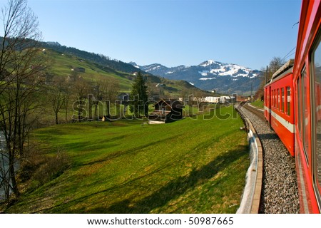 train and field