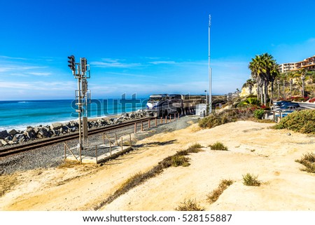Train at San Clemente State Beach