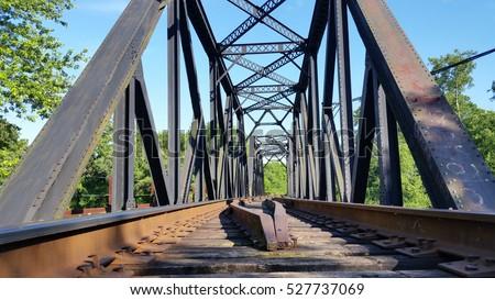 Train Bridge, train  trestle