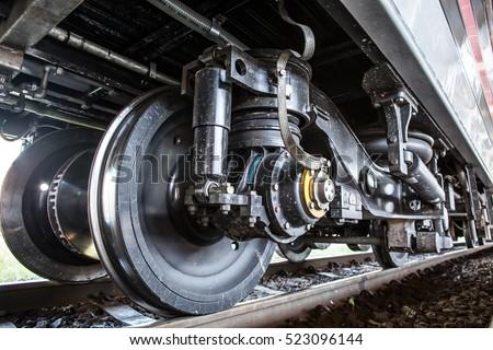 Train Car Undercarriage