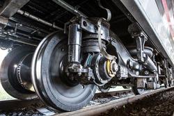 Train Car Undercarriage, passenger train, freight train.