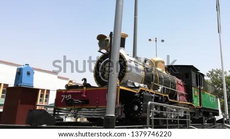 Train engine steam engine  #1379746220