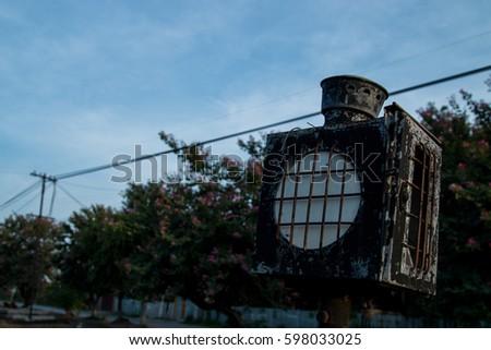 Train lamps