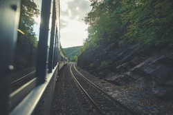 Train ride in Jim Thorpe PA