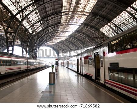 Train station / Barcelona,Spain #71869582
