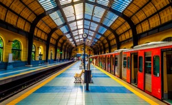 Train Station in Athens Greece