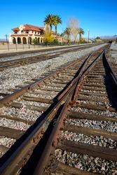 Train Station, Mojave National Preserve