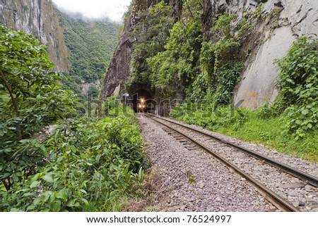 Train to Machu Picchu from Aguas Calientes