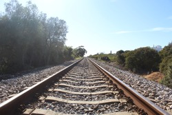 Train Track in South Portugal