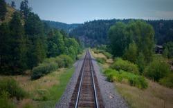 Train Tracks, Colorado U.S.A, Amtrak
