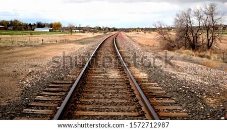 TRAIN TRACKS WAY TO HEAVEN