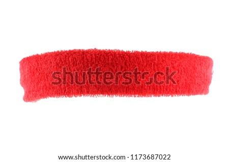 Training headband isolated on white Foto stock ©