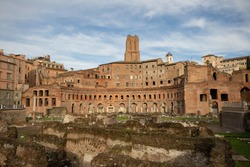 Trajan Market, It is the large complex of ruins in the city of Rome, Italy, And to be the world's oldest market