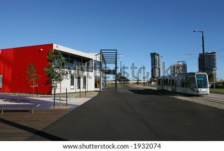 Tram at Melbourne (Australia)