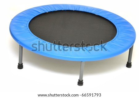 trampoline isolated