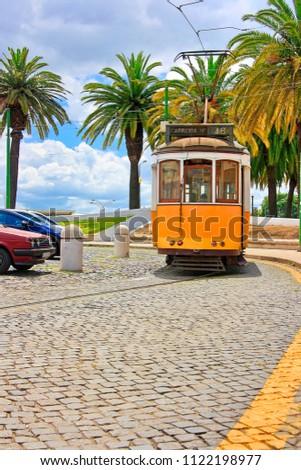 Trams in Lisbon, Portugal #1122198977