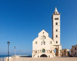 Trani Cathedral (Cattedrale di San Nicola Pellegrino). Trani, Puglia (Apulia), Italy