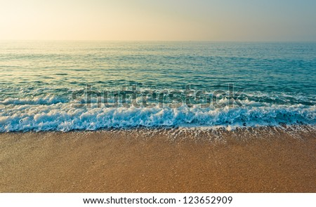 Tranquil Beach Sunrise