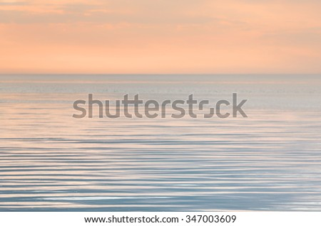 Tranquility on the sea in evening Сток-фото ©