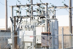 Transformer Generating electricity Powerstation Power lines