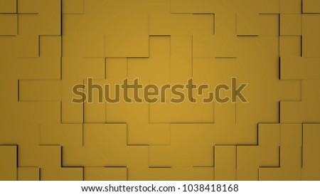 Stock Photo Transforming Cubes wall background. 3D animation. Abstract Cubes Background Random Motion, 3d Loopable Animation. geometric squares of various sizes move across the screen, motion background animation