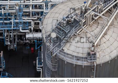 TRANSHIPMENT TERMINAL - Tanks and industrial installation
