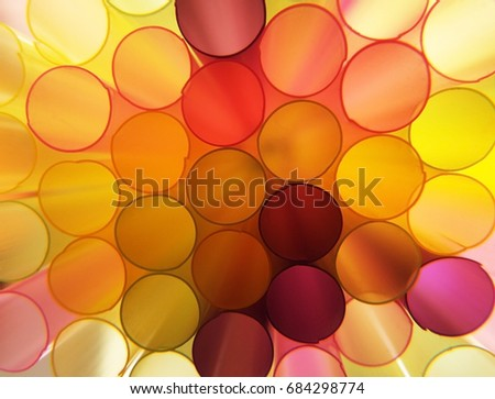Translucent colorful circles #684298774