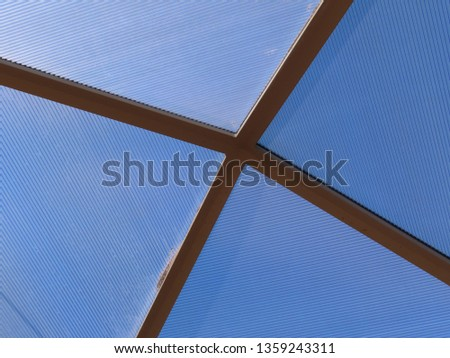 Transparent ceiling pattern #1359243311
