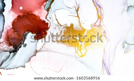 Transparent Composition. Alcohol Ink Artwork. Art Background. Fashion Transparent Composition. Transparent Canva. Space Swirl. Colorful Contemporary Illustration.