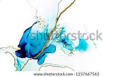 Transparent creativity. Abstract artwork. Trendy wallpaper. Ink colors are amazingly bright, luminous, translucent, free-flowing, and dry quickly. Natural pattern, luxury. ART for your design project.