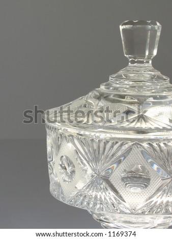 transparent crystal bowl #1169374