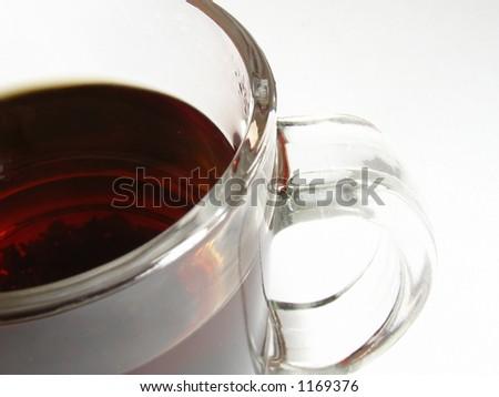 transparent cup of tea #1169376