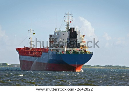 transport cargo ship