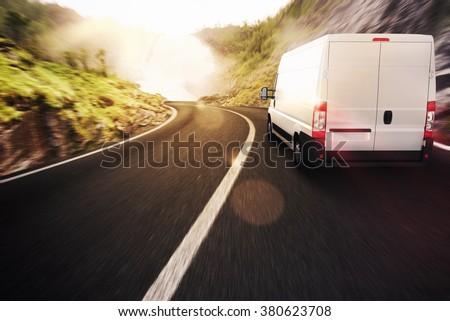 Transport truck #380623708