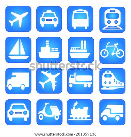 transportation icons,logistic icon,logistic illustration #201359138