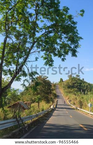 Transportation in Northern Thailand.