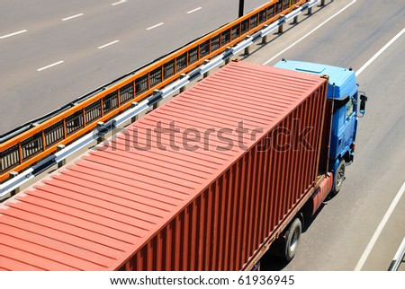 Transportation of cargoes by lorry