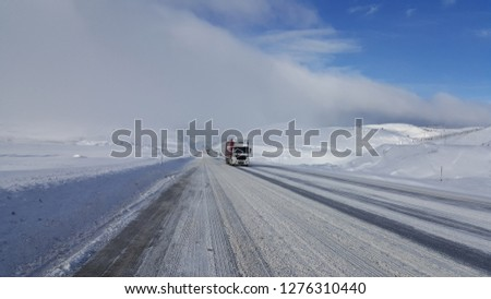 transportation truck roads #1276310440