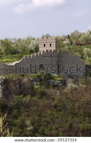 Trapezitsa Fortress in Veliko Turnovo, Bulgaria
