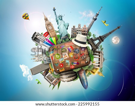 Travel  - Shutterstock ID 225992155