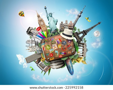 Travel  - Shutterstock ID 225992158