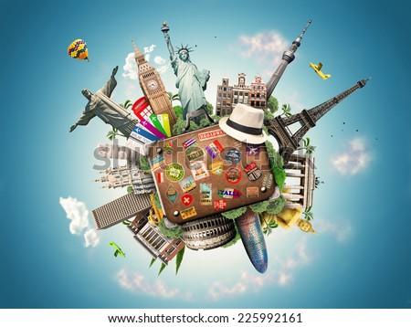 Travel  - Shutterstock ID 225992161