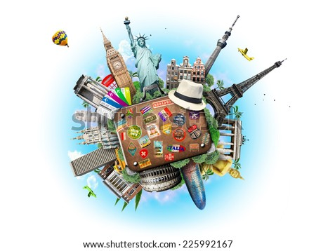 Travel  - Shutterstock ID 225992167