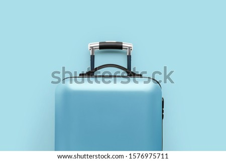 Travel & airplane concept with the luggage #1576975711