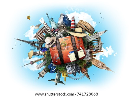 Travel and tourism - Shutterstock ID 741728068
