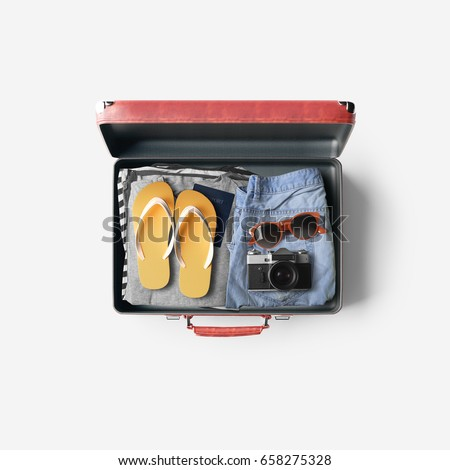 travel bag concept