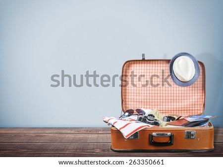 Travel, bag, tourist.